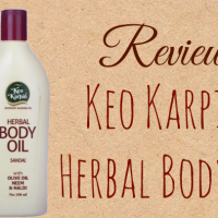 REVIEW:Keo Karpin Herbal Body Oil