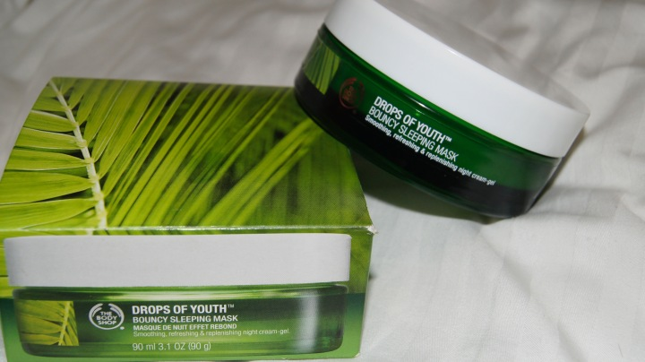 REVIEW: The Body Shop 'Drops of Youth Bouncy Sleeping Mask'