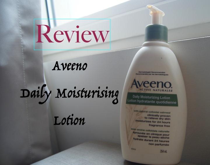 Review: Aveeno Daily Moisturisinglotion