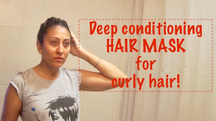 Deep Conditioning Mask for Curly Hair