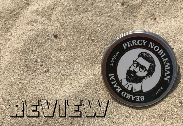 Beard Balm By Percy Nobleman – New All Natural Leave in Conditioner for Men.