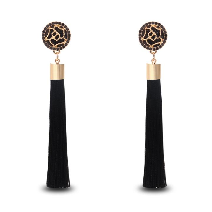 2017-new-Vintage-Ethnic-Long-Earrings-Rose-pattern-style-tassel-Drop-Earrings-popular-accessories-for-beautiful