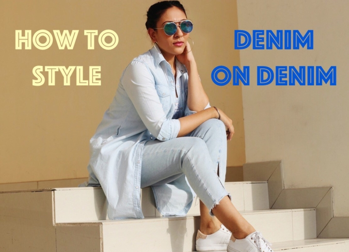 How to style denim on denim correctly