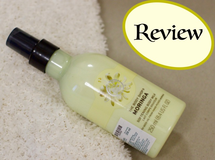 Review: The Body Shop Moringa Milk Body Lotion