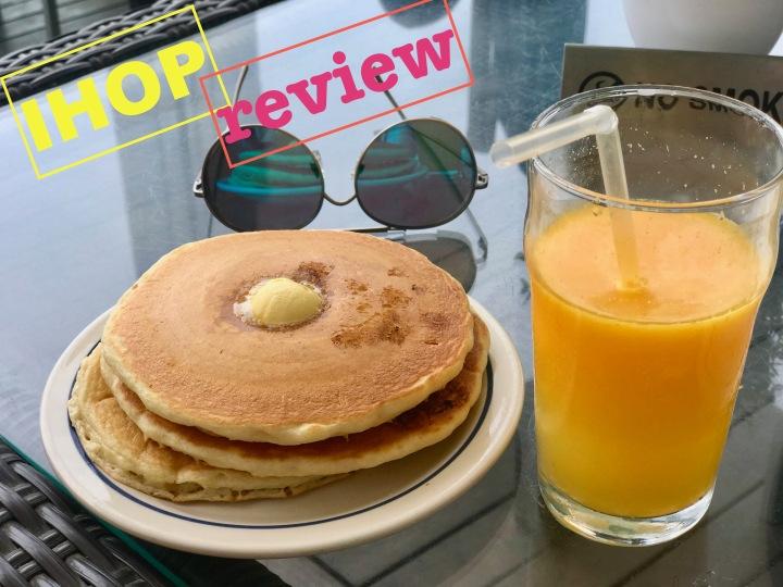 Review: IHOP breakfast