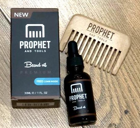 Review: Prophet and Tools Unscented beard oil